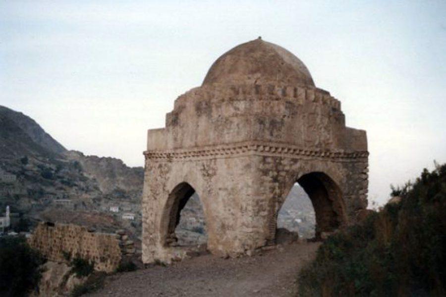 צילום קברו של רבי שלום שבזי | ארכיון