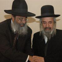 הרב יהורם יפת עם הרב שלמה קורח